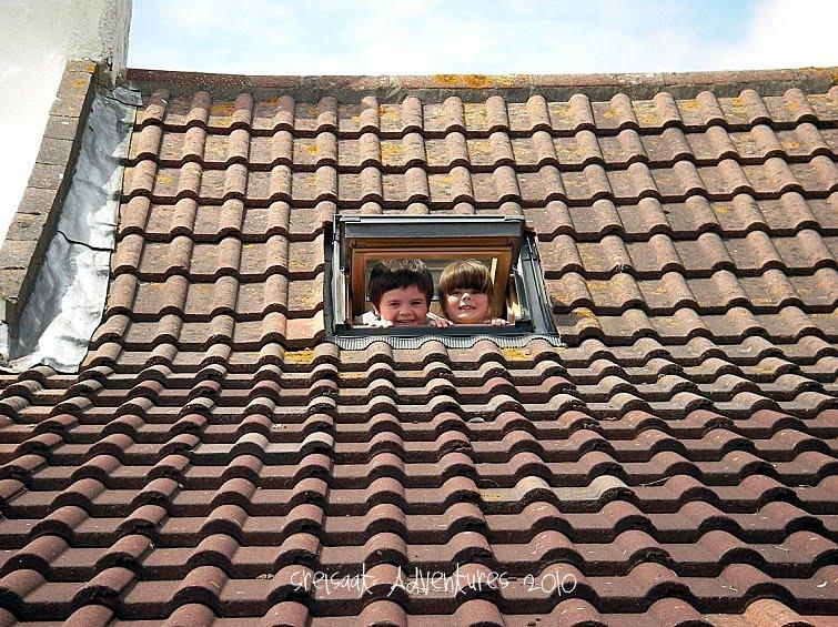 Mice in the roof! Tee-hee-hee.