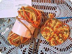 My crochet paraphernalia.