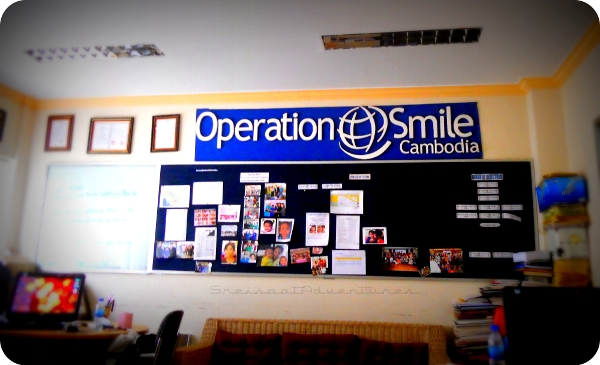 signs operation smile cambodia