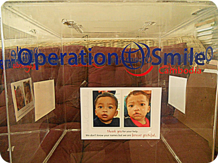 operation smile donation box