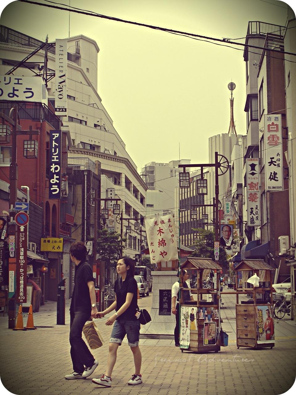 Asakusa, Tokyo, Rokku